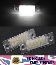License Plate Number 2x 18LED Light Lamp VW Transporter Passat Golf Touran Skoda