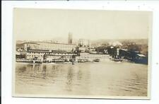 Real Photo Post Card Postcard Powell River British Columbia BC Canada Paper Mill