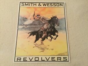 Smith and Wesson poster sign