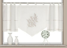 Scheibengardine Schlaufenpanneaux Bistrogardine Kurzgardine 2235 60 x 150 cm
