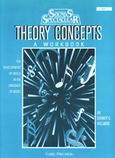 """Sounds Spectacular """"Theory Concepts"""" A Workbook-Music Book Level 2-New On Sale!"""