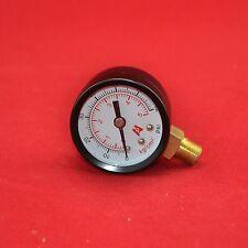 "1.5"" 40mm brass  pressure gauge 0-5 bar(70psi)  manometer ,PT1/8"" bottom thread"