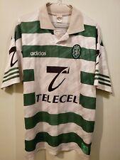 Adidas VTG rare Sporting CP soccer jersey mens medium