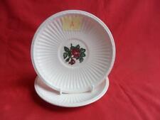 Wedgwood, Moss Rose, 2 x Teacup Saucers (A) (No Cups)