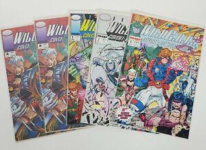 Wild Cats Lot of 5 Image Comic