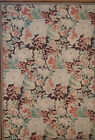 Art Deco Style Vintage Look Hand Knotted Aubusson Flat Weave Carpet 11.10 x 17.2