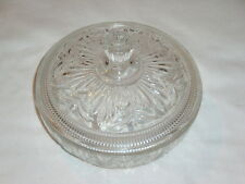 VINTAGE AVON CANDY DISH CLEAR GLASS WITH LID