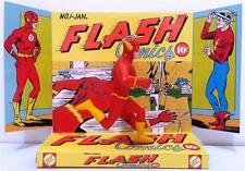 The FLASH Superhero Comic Action Figure on Custom Design Display Diorama Diorama