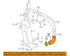 VW VOLKSWAGEN OEM 12-14 Passat 2.0L-L4 Intercooler-Lower Hose 3AA145832B