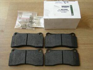 NEW GENUINE JAGUAR XKR XJR FRONT BRAKE PADS FOR R-PERFORMANCE BREMBO MODELS X308