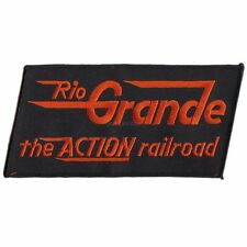 Patch- Denver & Rio Grande (the Action Road)  (DRGW) # 12359 -NEW -Free Shipping