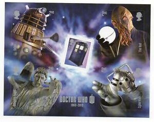 GB 2013 Dr Who unmounted mint mini / miniature sheet MNH stamps m/s Doctor