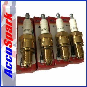 Lotus Elan AccuSpark SPARK PLUGS AC7C , N7YC BP7ES x4