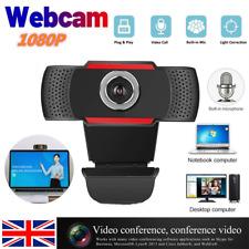 1080P Autofocus HD Webcam Camera With Microphone For PC Desktop Compute USB 2.0