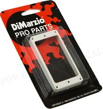 DIMARZIO HUMBUCKER PICKUP MOUNTING RING GUITAR BRIDGE POSITION (WHITE) FLAT *NEW