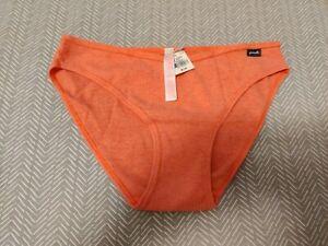 Victoria's Secret PINK Bikini Underwear Size M Medium Coral Color