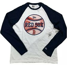 New Era - Boston Red Sox - Mens Size Large - Raglan Shirt - MLB - Baseball