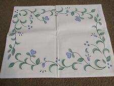 CORELLE COUNTRY COTTAGE Set Of Place Mats Cloth