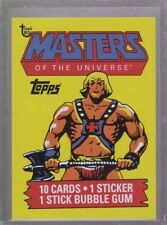 2018 Topps 80th Anniversary Wrapper Art Card #91 - 1984 Masters of the Universe