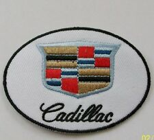 CADILLAC EMBROIDERED CLOTH BADGE