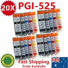 20X Ink Cartridges PGI525 CLI526 for Canon MG5250 MG6100 MG6150 MG6250 MG8150