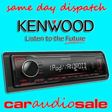 KENWOOD KMM-204 MECHLESS MP3 USB ANDROID APPLE CONTROL CHEAP CAR VAN STEREO