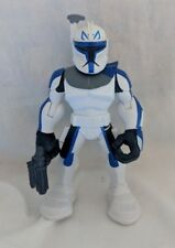 "Star Wars Jedi Force Playskool Galactic Heroes CAPTAIN REX 5"" Action Figure"