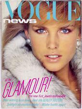 PAULINA PORIZKOVA Patrick Demarchelier VINTAGE Missoni JAEGER Vogue magazine 80s