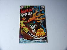 "1967 DC COMIC NO. 75 BATMAN & SPECTRE ""THE GRASP OF SHAHN-ZI"" GOOD SHAPE !!!!"
