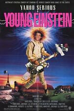 YOUNG EINSTEIN Movie POSTER 27x40 Yahoo Serious Odile Le Clezio John Howard Pee