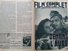 """LE FILM COMPLET 1946 """" LES DEMONS DE L' AUBE """" GEORGES MARCHAL et JACQ. PIERREUX"""