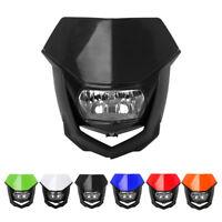 Universal Headlights Headlamp Street Fighter Dirt Pit Bike Supermoto Motorcycle