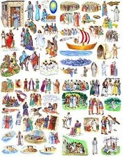 13 Stories of Jesus Bible Felt Figures PRECUT Flannel Board parables miracles +
