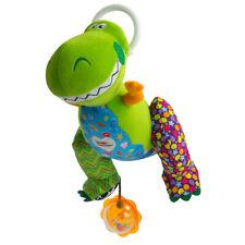 LC27272 Lamaze Clip & Go Rex Soft Dino Doll Sensory Rattle Pram Toy Story Baby