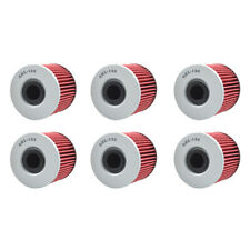 6X Oil Filters For Suzuki GR650 Tempter GS1000 GS1100 GS450 GS500 GS550 GSX400
