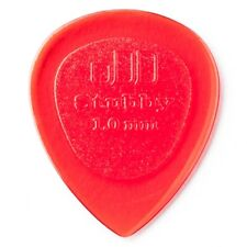 Dunlop 474P1.0 Stubby Jazz Red Guitar Picks Player's Pack, 6-Pack, 1.0mm