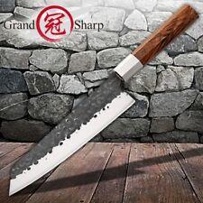 Kiritsuke Knife Handmade Chef Kitchen Knives Wood Handle Cooking Tools Pro