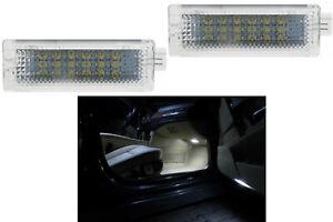 2x LED Modul 18 SMD Fußraumbeleuchtung Passt für 1er E82 Coupe Weiß (030104)