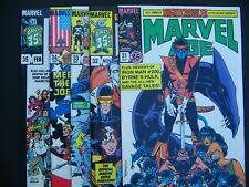 Marvel Age #31,32,33,34,35,36,37,38,39  NM 1984 Lot of 9 High Grade