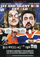 Jay and Silent Bob Get Old: Tea Bagging in the UK 2dvd set brand new!