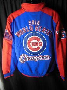 Chicago Cubs MLB Men's G-III 2016 World Champions Jacket Medium