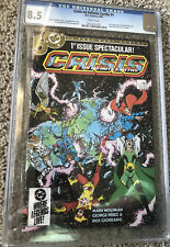 CRISIS ON INFINITE EARTHS #1- CGC GRADED 8.5- 1985- 1st Appearance Blue Beetle