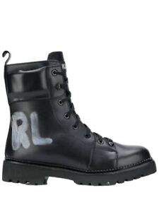 Karl lagerfeld shoes women's boots RRP$550 Ankle Boots Military Boots