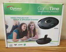 Optoma GT200 DLP HDMI Video Projector w/ iDock & Speaker