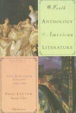 The Heath Anthology of American Literature Vol. C : Late Nineteenth Century,...