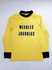 MEUBLES JOURNIAC N°11 COUPE DE FRANCE MAILLOT FOOTBALL PORTE WORN SHIRT VINTAGE