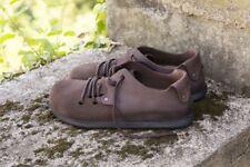 Birkenstock Montana Ebony Veloursleder & Fettleder Größe 38-46 Fußbett normal