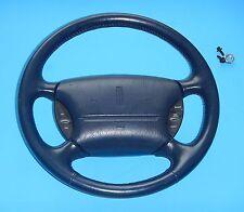 1993-96 Lincoln Mark VIII OEM Steering Wheel Air Bag Cruise Control - DARK BLUE