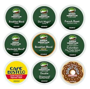 24-Ct Green Mountain Coffee For Keurig Brewers K-Cups Many Flavors