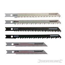 Jigsaw Lame Set montaggio universale 30 pezzi legno / metallo taglio Silverline